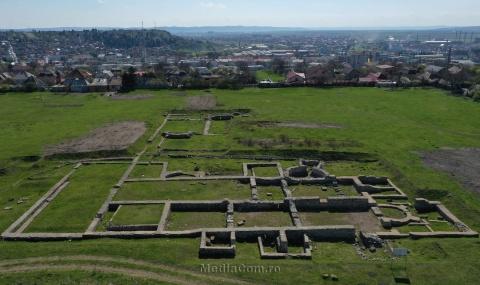 Castrul Roman Turda devine obiectiv turistic important, printr-un proiect finanțat de Uniunea Europeană