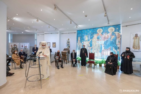 Momentul redeschiderii Mănăstirii Voroneț a fost recreat la Biblioteca Academiei Române