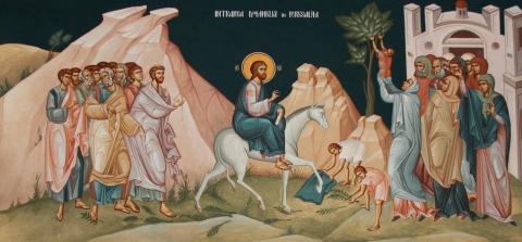 Evanghelia de Duminică: Intrarea în Ierusalim, drum spre Înviere