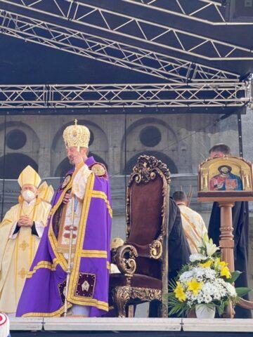 Noul episcop greco-catolic de Cluj-Gherla, PS Claudiu, a fost înscăunat