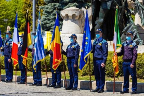Ziua Independenței de Stat a României și Ziua Uniunii Europene au fost sărbătorite la Cluj-Napoca