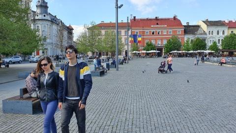 Poza Zilei: Clujul fără mască