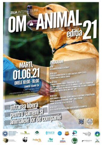 Ziua Interacțiunii Om-Animal (ZIOA) revine în campusul USAMV Cluj-Napoca, de 1 Iunie – Ziua Internațională a Copilului