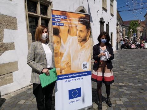Clujenii sunt chemați să contribuie cu ideile lor privind viitorul Europei