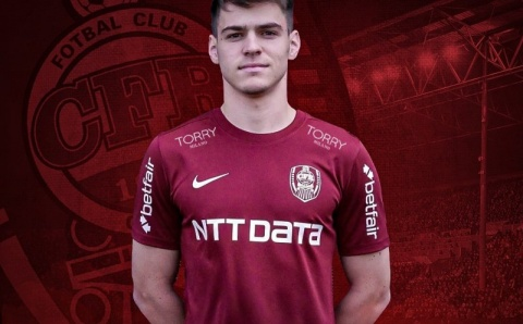 Nou jucător prezentat oficial la CFR Cluj