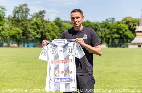 FC Universitatea Cluj s-a înțeles cu Andrei Blejdea