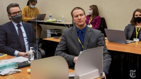 Fostul polițist Derek Chauvin, condamnat la 22 de ani și jumătate de închisoare pentru uciderea lui George Floyd