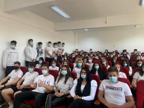 Colaborare dintre Liceul Tehnologic Marmația și mediul universitar clujean