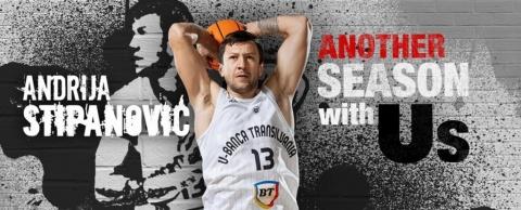 Andrija Stipanović și-a prelungit înțelegerea cu U-BT
