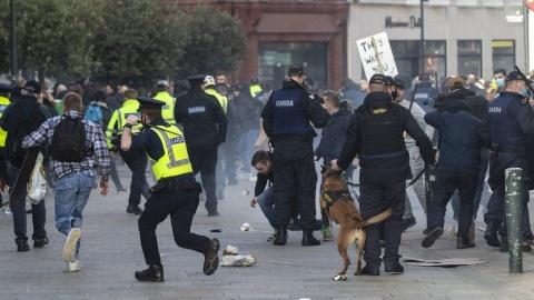 Proteste în Irlanda împotriva pașapoartelor vaccinale
