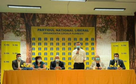 PNL Florești are un nou președinte, în persoana lui Bogdan Pivariu