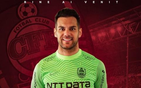 CFR Cluj a oficializat transferul portarului Cristiano Figueiredo