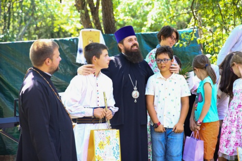 """Binecuvântarea Centrului Catehetic """"Sfinții Martiri Brâncoveni"""" din Parohia Ticu"""