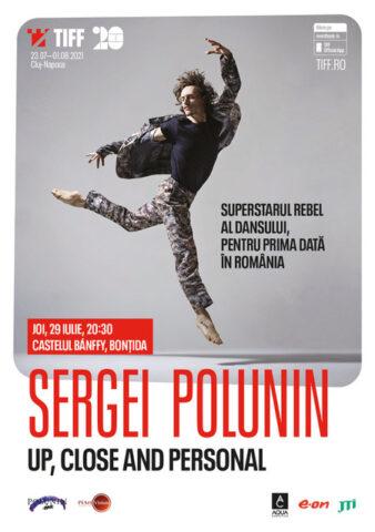 Sergei Polunin: Sunt nerăbdător să vin la TIFF