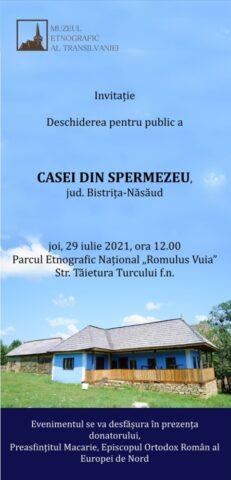 """Prezentarea casei din Valea Țibleșului, în Parcul Etnografic """"Romulus Vuia"""""""
