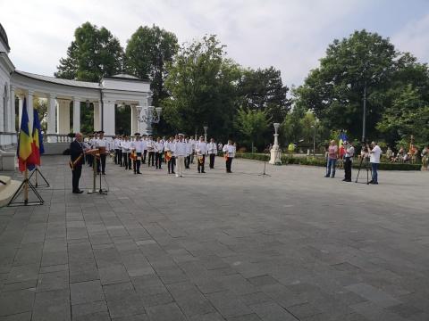 Ziua Imnului Național sărbătorită la Cluj-Napoca. Au fost intonate cinci imnuri
