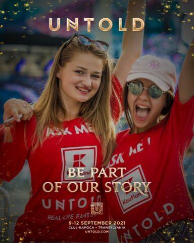 UNTOLD are nevoie de 2000 de voluntari pentru festival