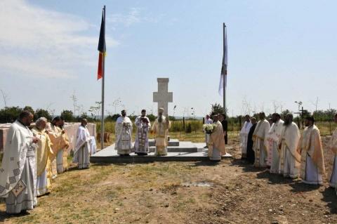 A fost sfinţită o cruce monument în memoria lui Tudor Vladimirescu