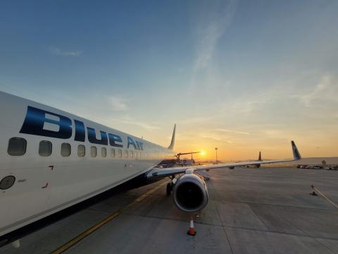 Noi destinații de vacanță în sezonul de vară 2022, operate de compania aeriană Blue Air de pe Aeroportul Cluj