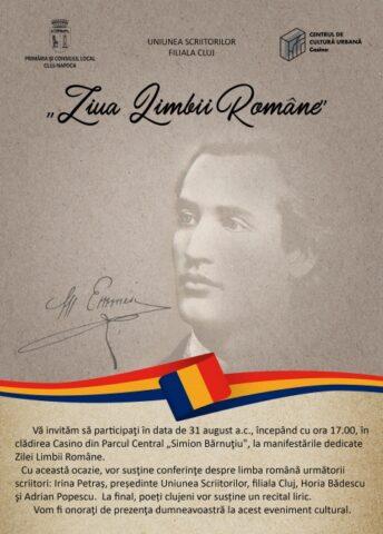 Ziua Limbii Române celebrată la Cluj-Napoca. Conferințe și recital liric