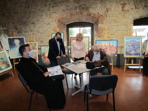 Arta face întotdeauna casă bună cu istoria la Cluj
