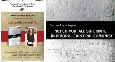 Carte: 101 chipuri ale suferinţei în Bihorul carceral comunist lansată la Cluj