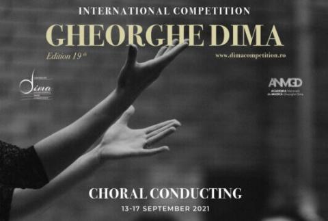 "Concursul Internațional ""Gheorghe Dima"" revine cu ediția a 19-a"