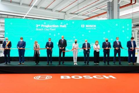 Compania Bosch a inaugurat cea de-a treia hală de producţie din cadrul fabricii