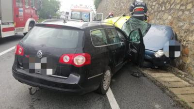 Grav accident de circulaţie a avut loc, duminică, în municipiul Cluj-Napoca