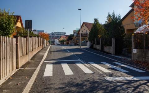 S-au finalizat lucrările de modernizare pe strada Wolfgang Amadeus Mozart