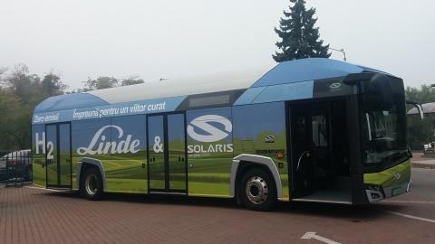Autobuz cu hidrogen, în teste în Cluj-Napoca
