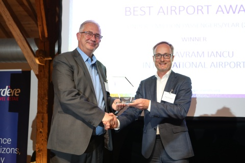 Aeroportul Internațional Cluj–cel mai bun aeroport din Europa la categoria sub 5 milioane de pasageri